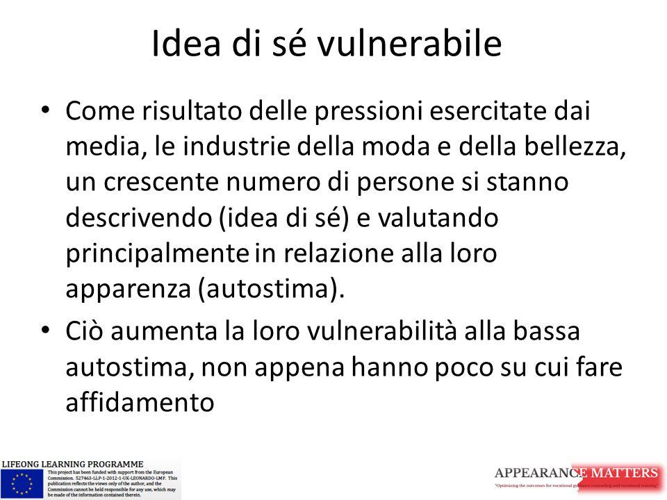 Idea di sé vulnerabile