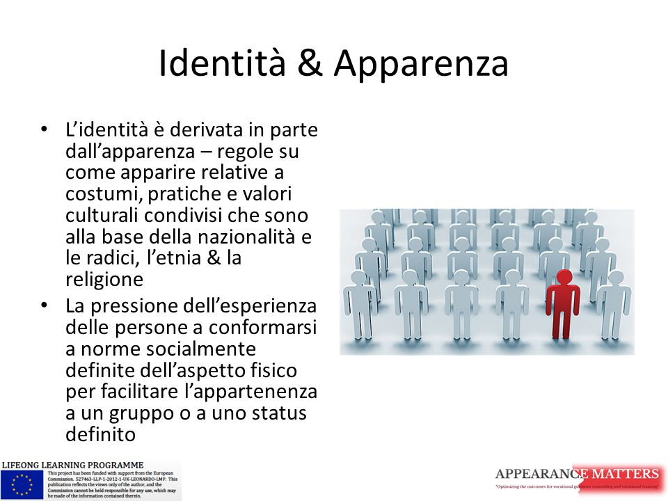 Identità & Apparenza