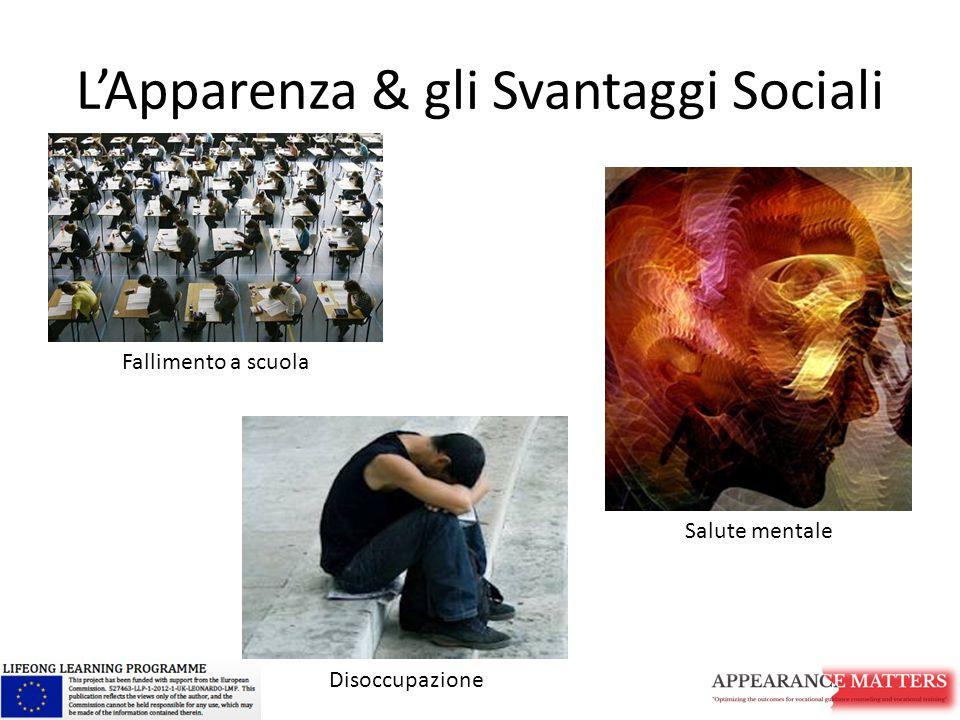 L'Apparenza & gli Svantaggi Sociali