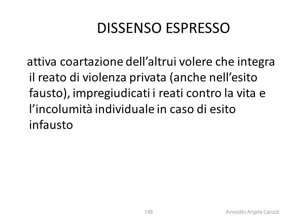 DISSENSO ESPRESSO