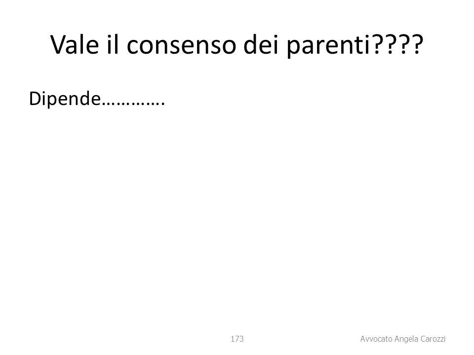 Vale il consenso dei parenti