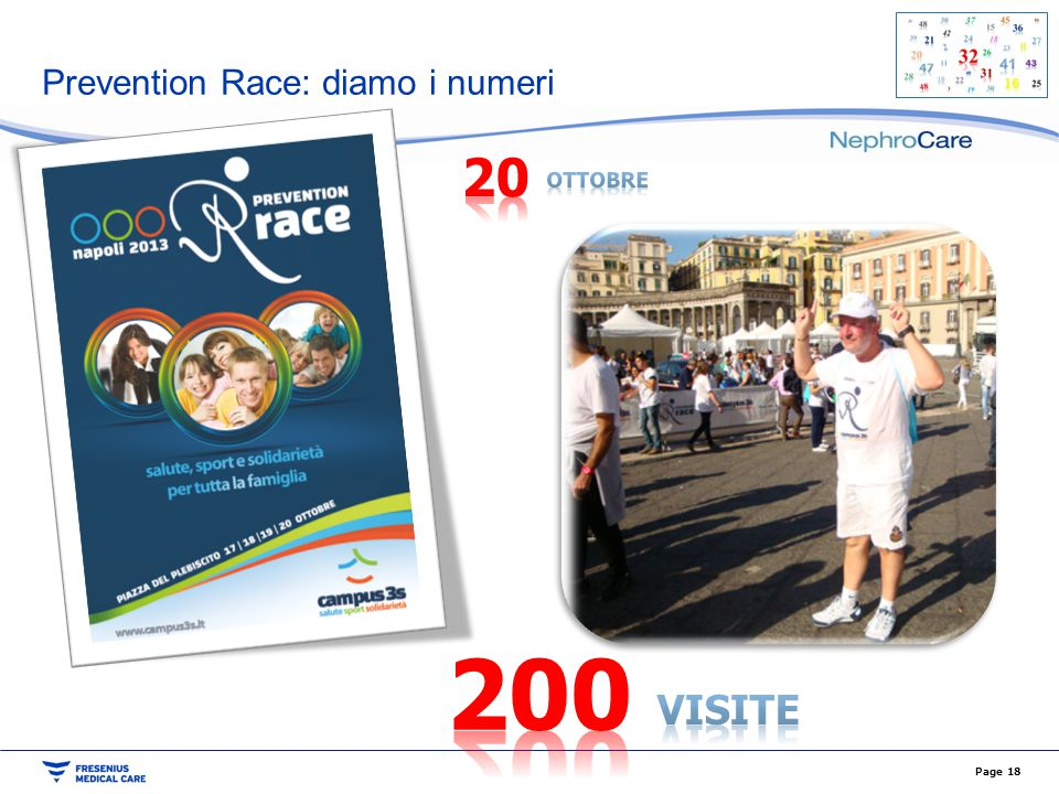 Prevention Race: diamo i numeri