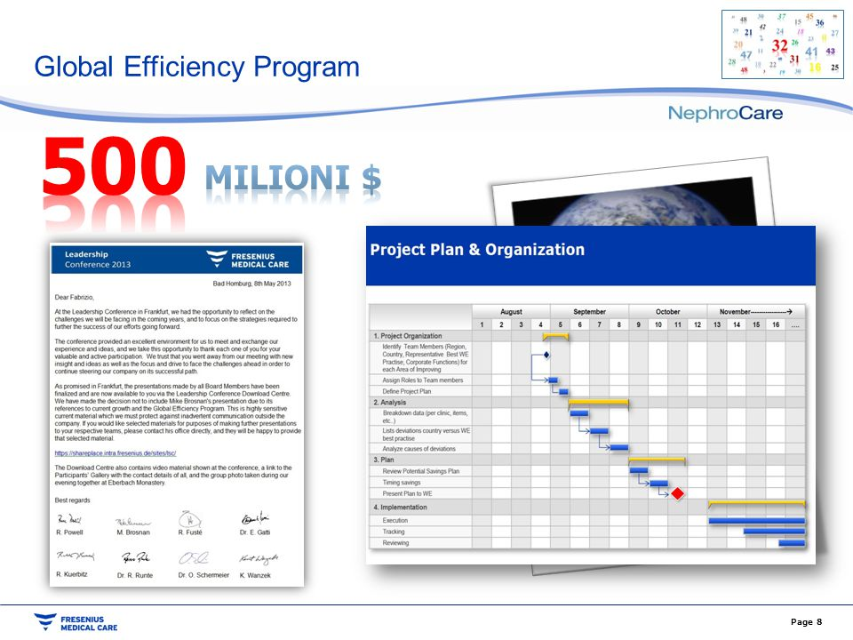 Global Efficiency Program