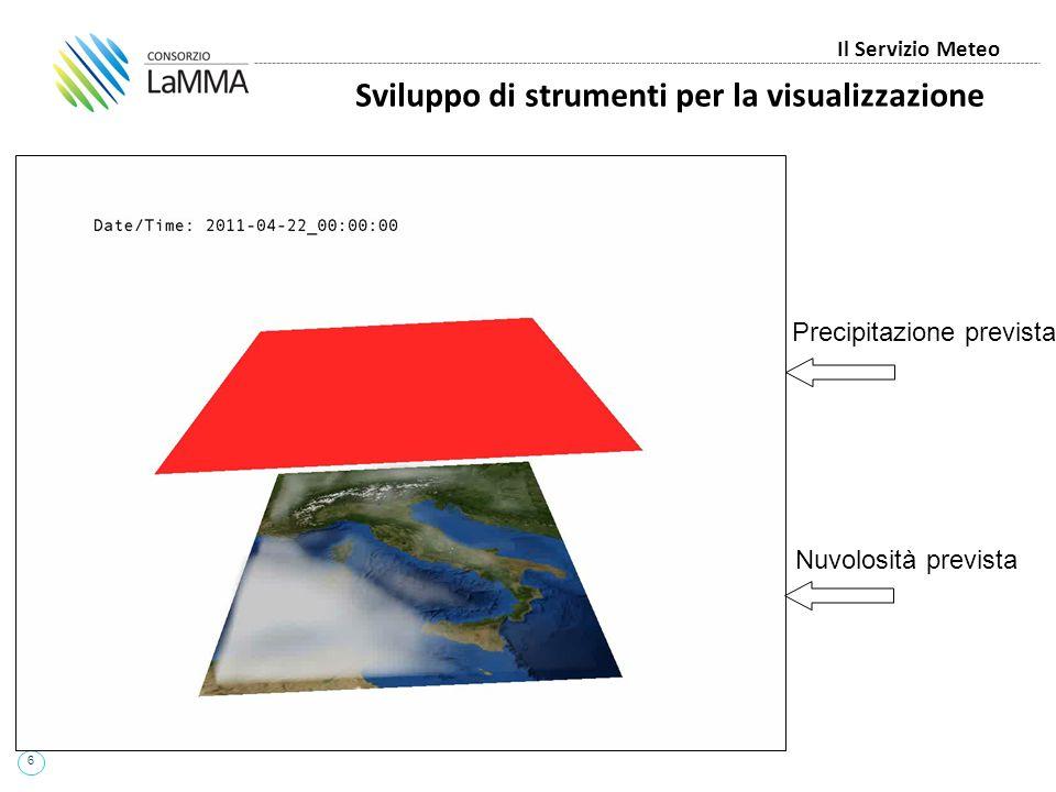 Sviluppo di strumenti per la visualizzazione