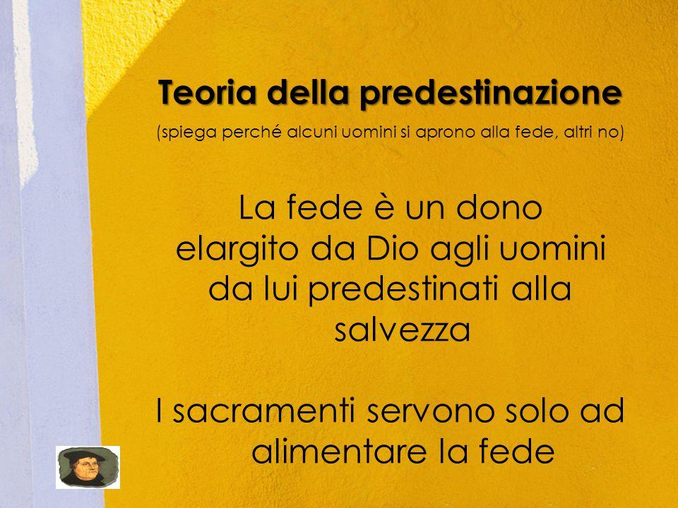 Teoria della predestinazione