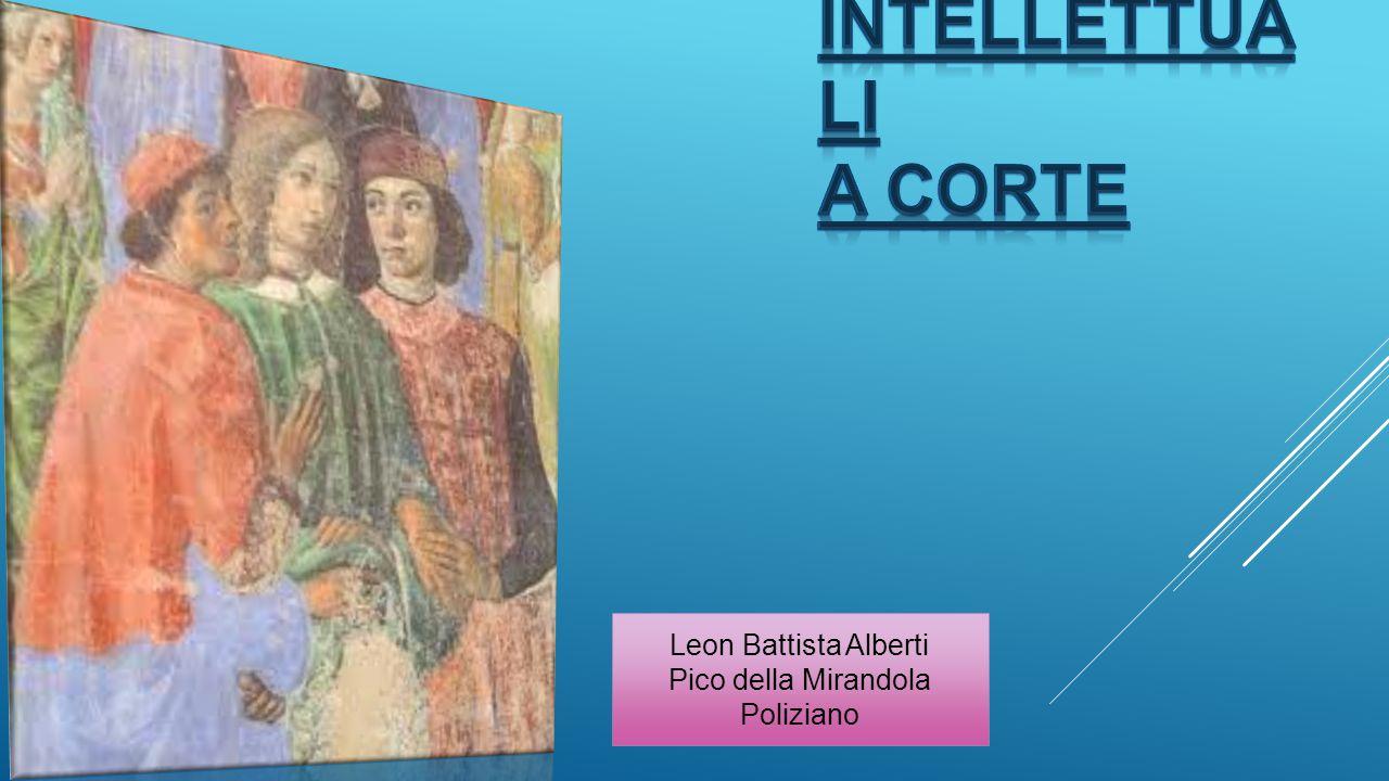 intellettuali a corte Leon Battista Alberti Pico della Mirandola