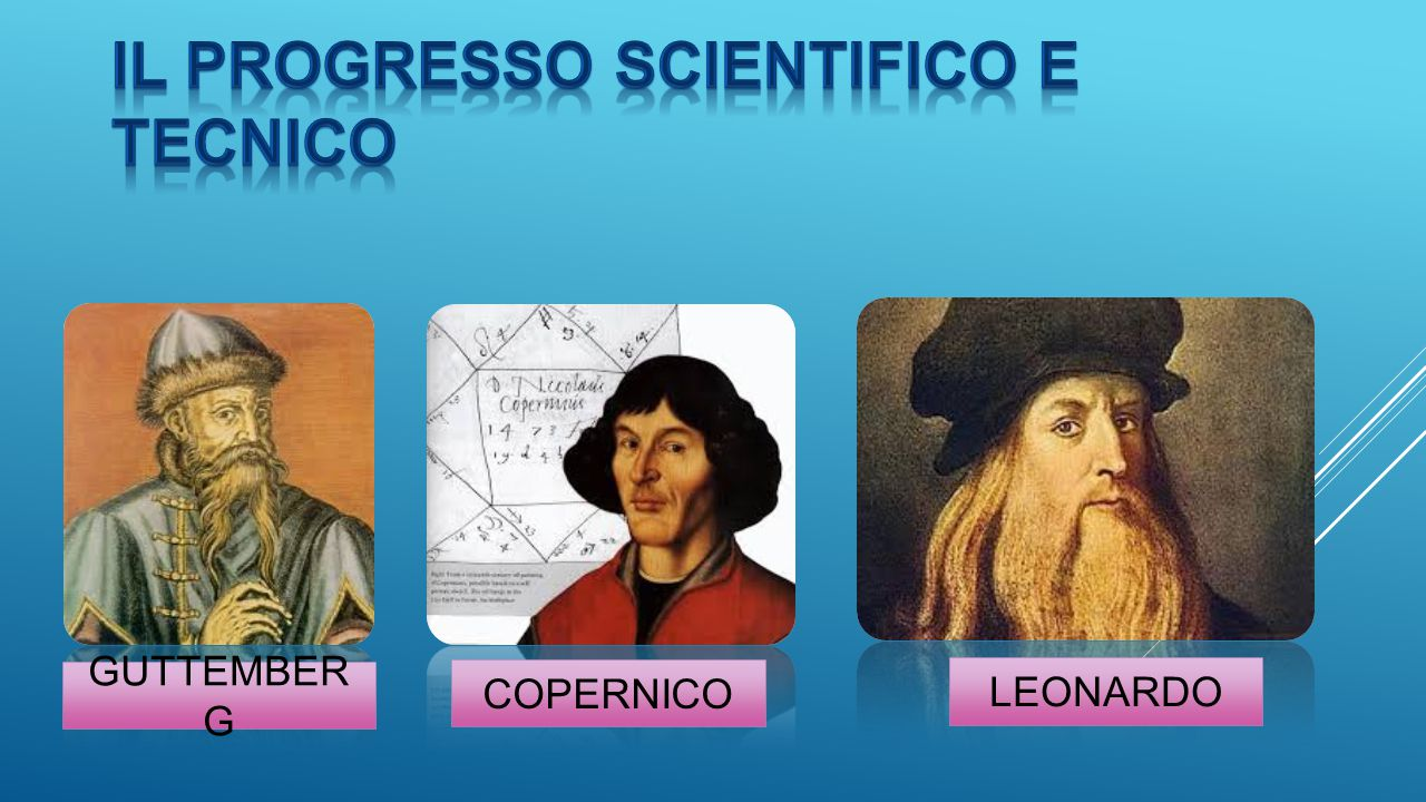 Il progresso scientifico e tecnico