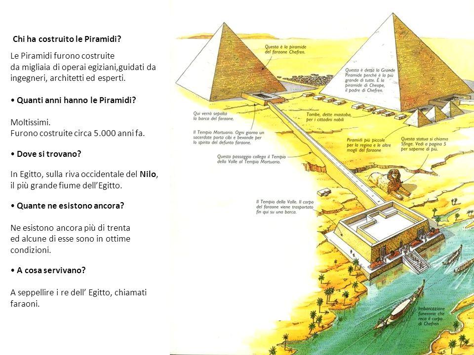Chi ha costruito le Piramidi
