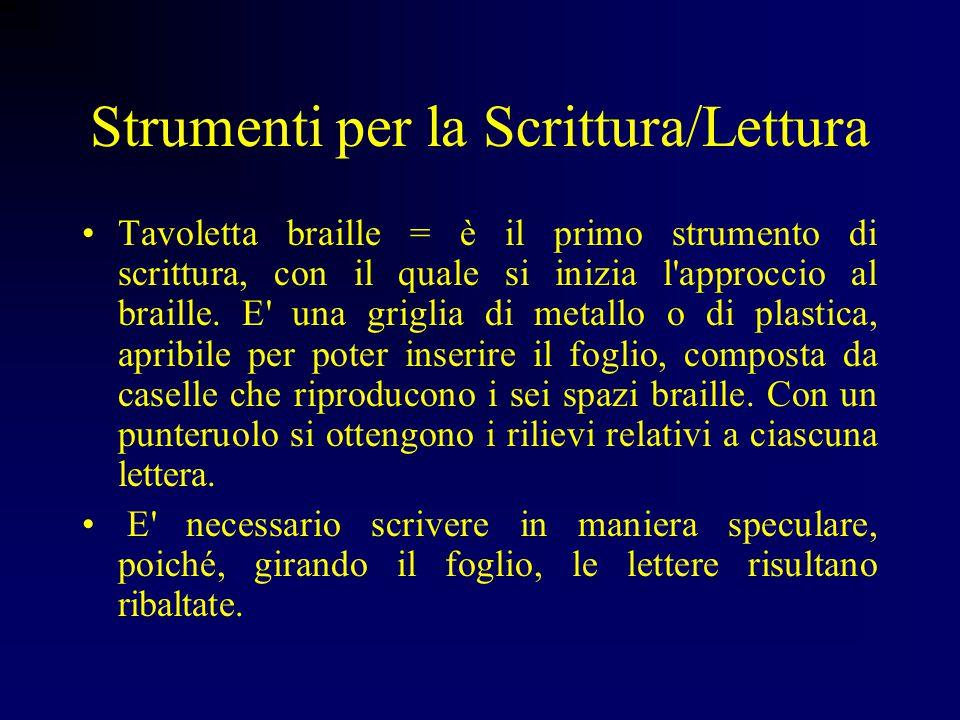 Strumenti per la Scrittura/Lettura