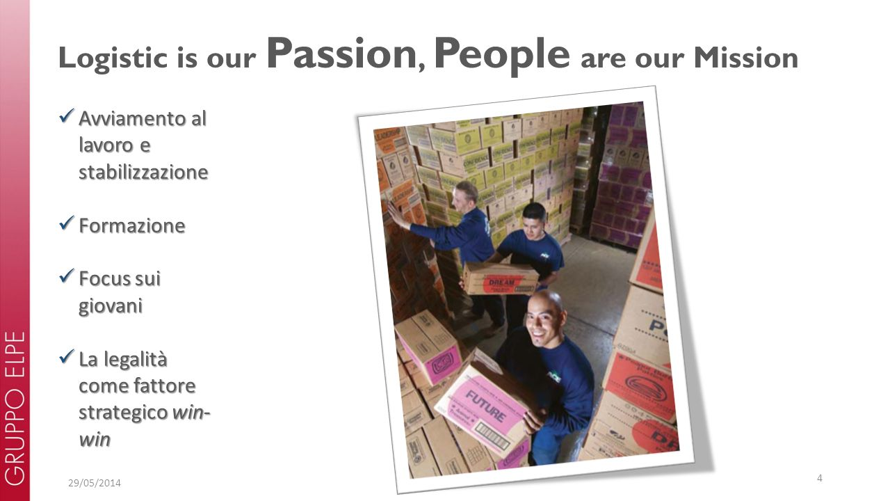 Logistic is our Passion, People are our Mission