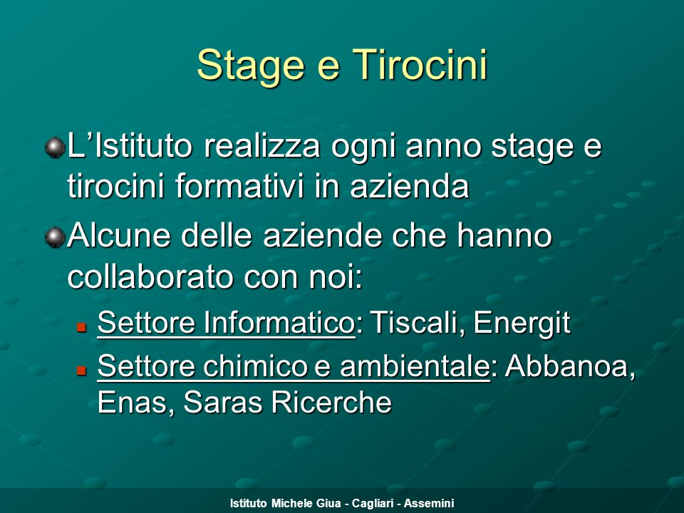 Istituto Michele Giua - Cagliari - Assemini