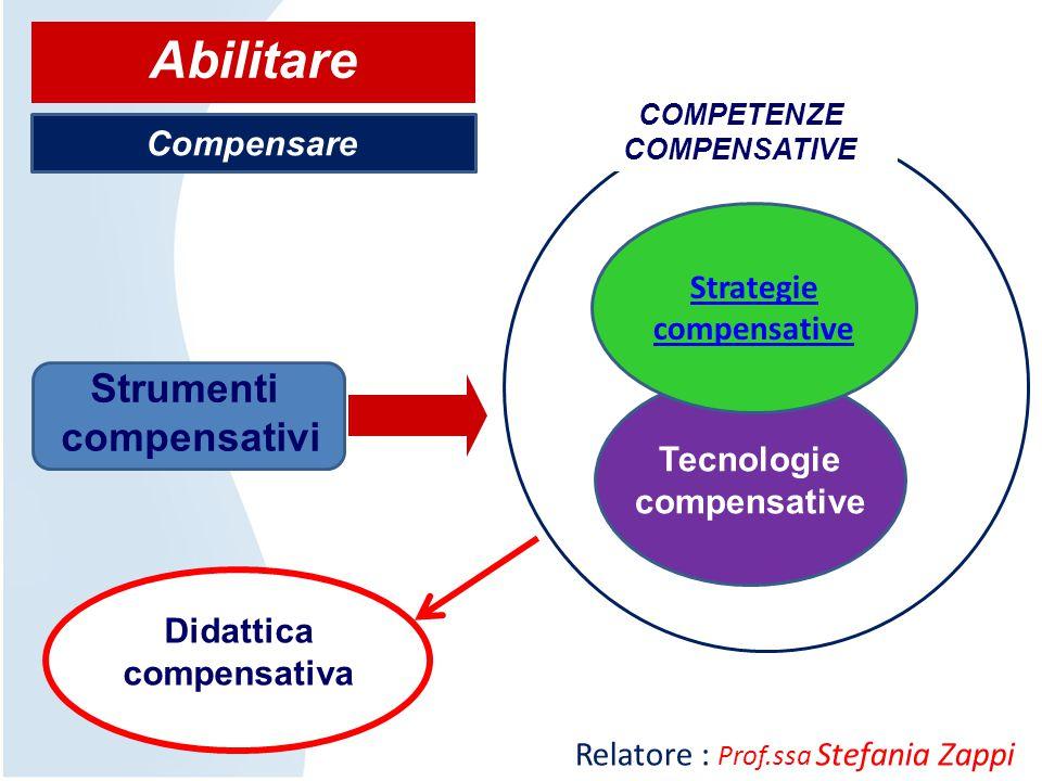 COMPETENZE COMPENSATIVE Didattica compensativa