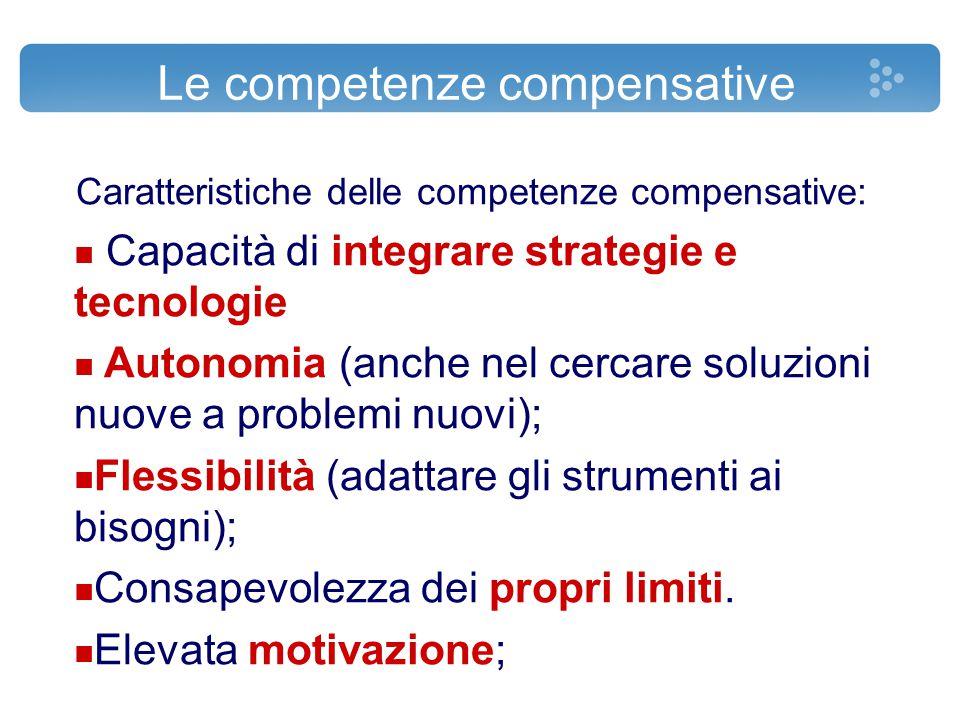 Le competenze compensative