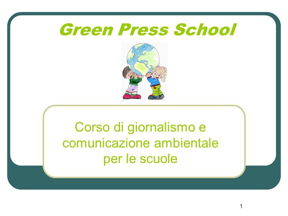 Corso di giornalismo e comunicazione ambientale per le scuole