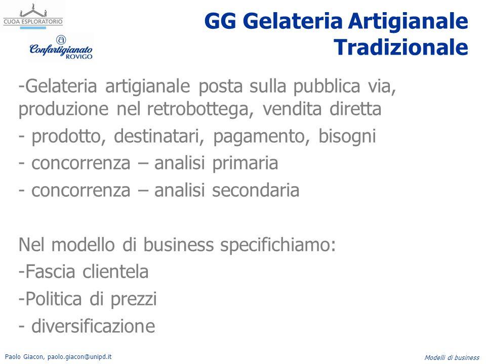 GG Gelateria Artigianale Tradizionale