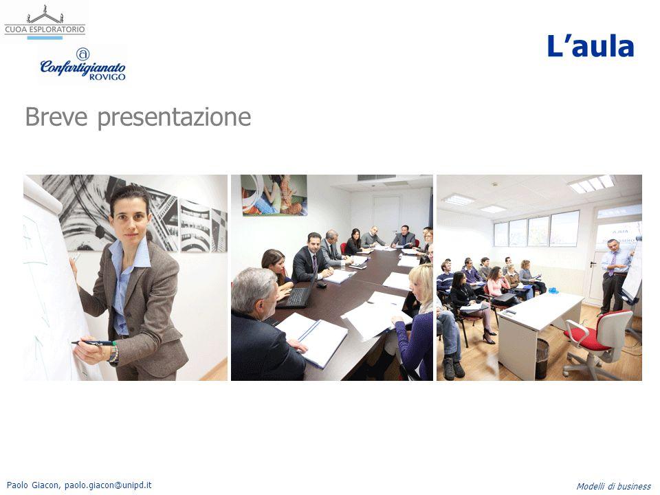 L'aula Breve presentazione