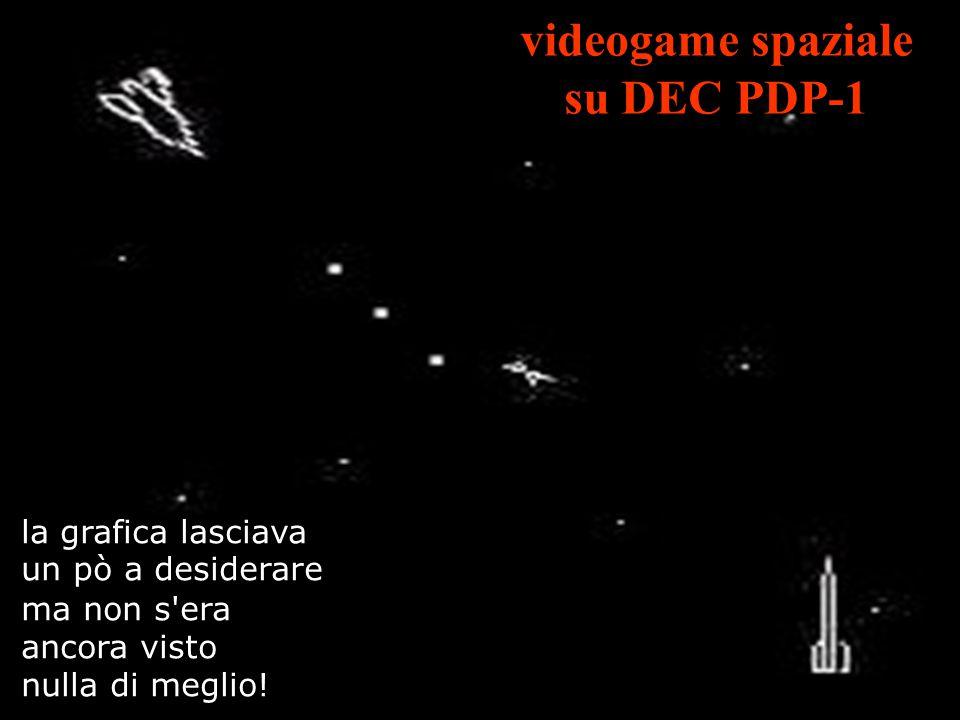 videogame spaziale su DEC PDP-1