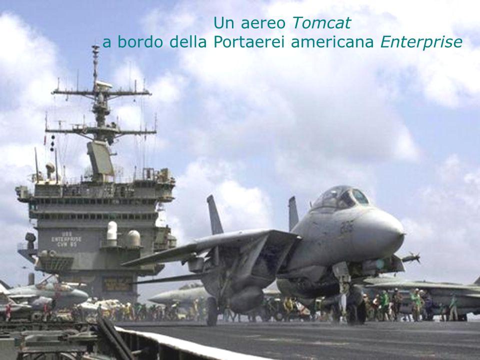 a bordo della Portaerei americana Enterprise