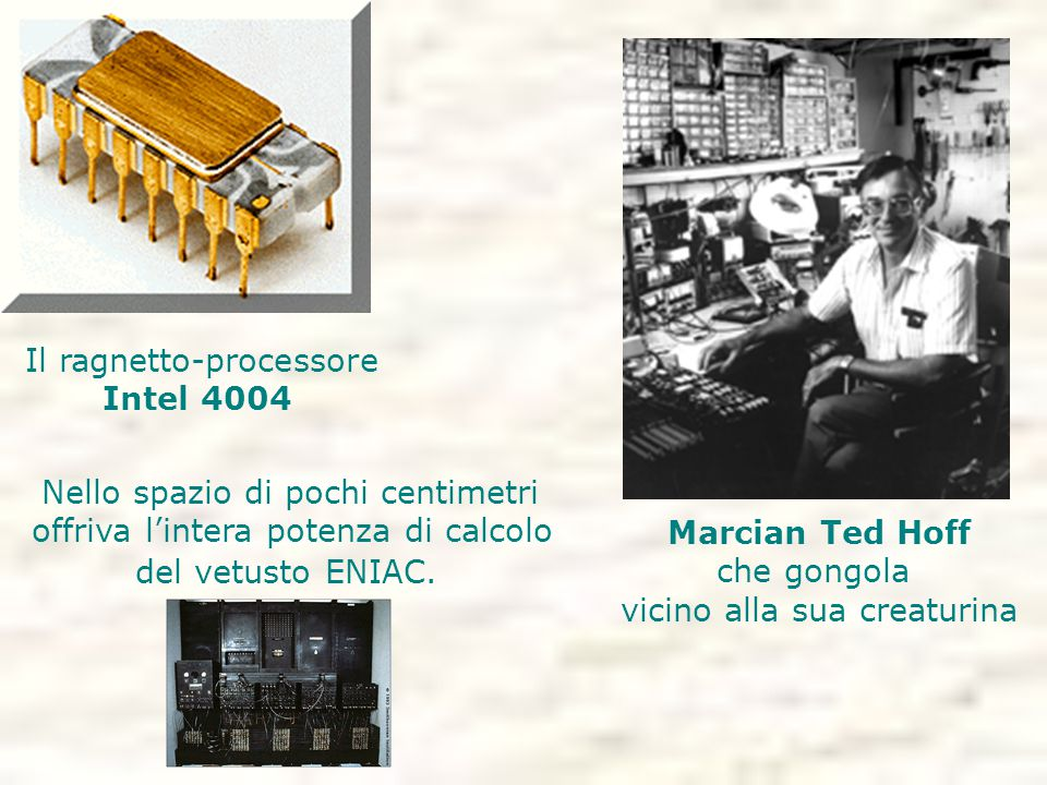 Il ragnetto-processore Intel 4004
