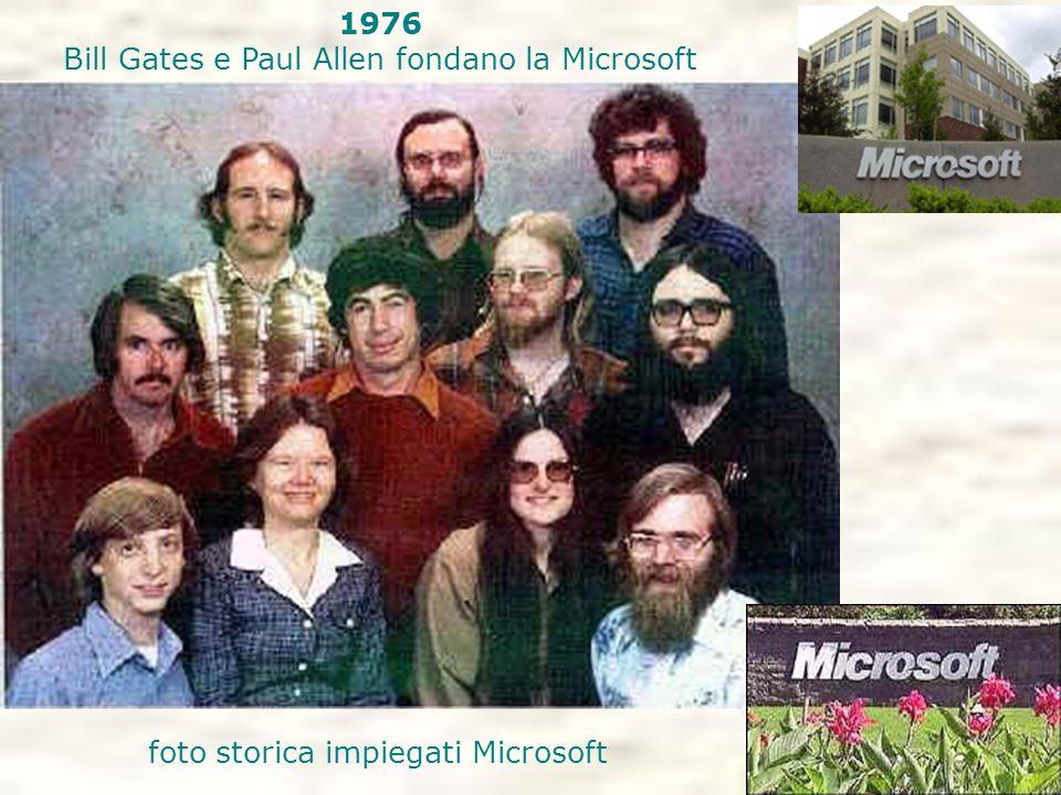 Bill Gates e Paul Allen fondano la Microsoft