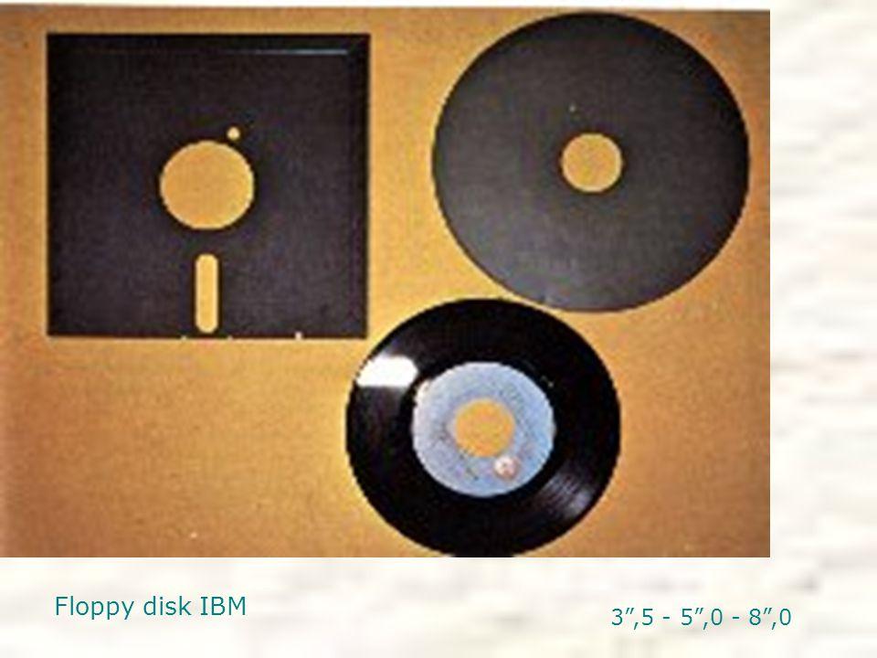 Floppy disk IBM 3 ,5 - 5 ,0 - 8 ,0
