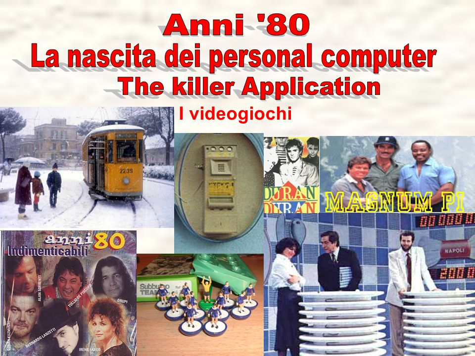 La nascita dei personal computer The killer Application
