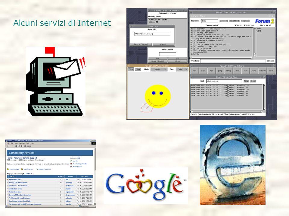 Alcuni servizi di Internet