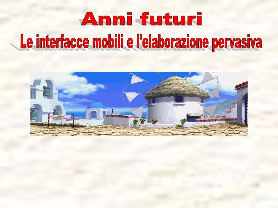 Le interfacce mobili e l elaborazione pervasiva