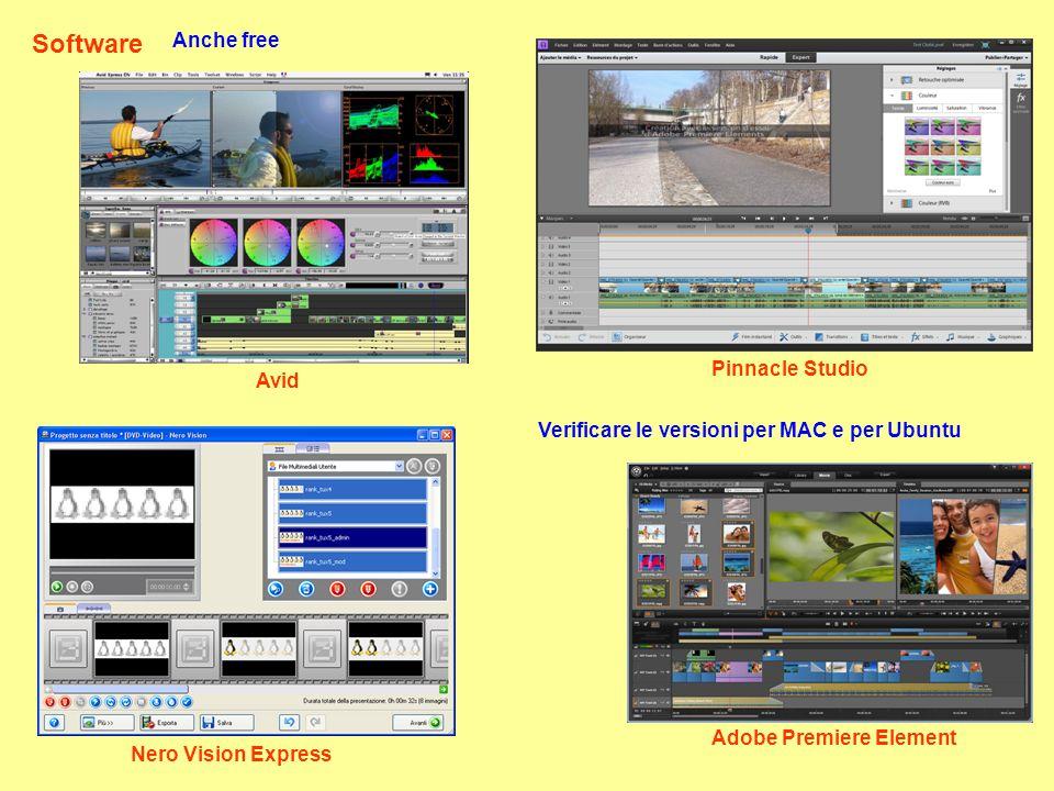 Software Anche free Pinnacle Studio Avid