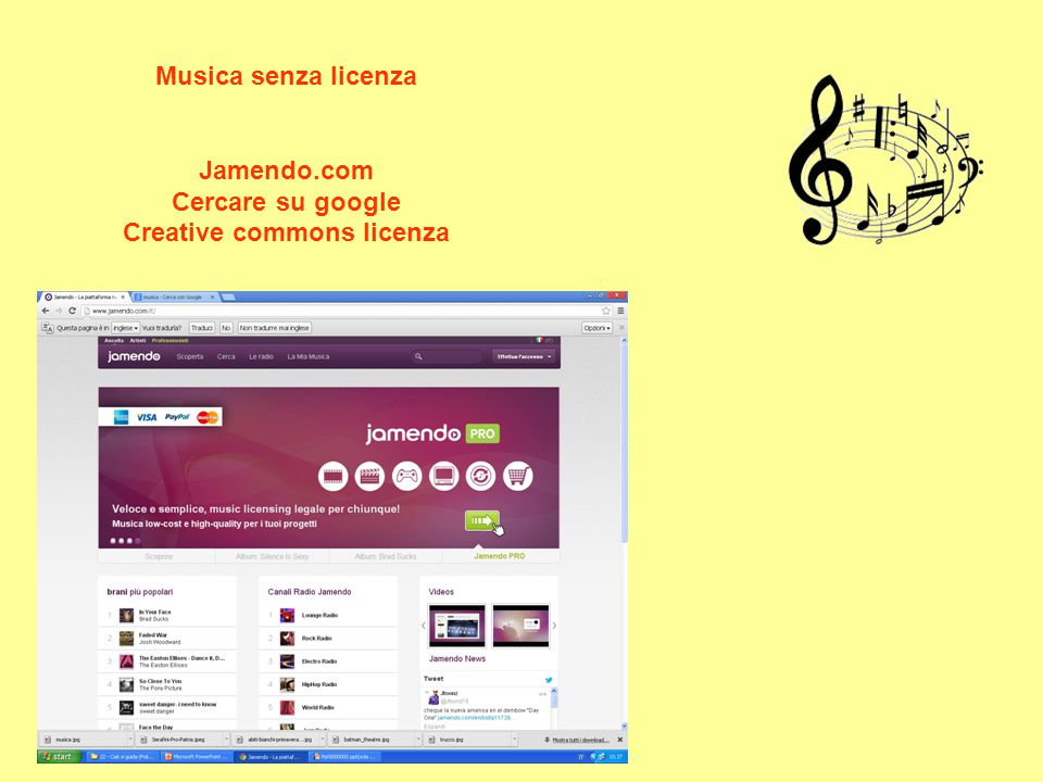 Creative commons licenza