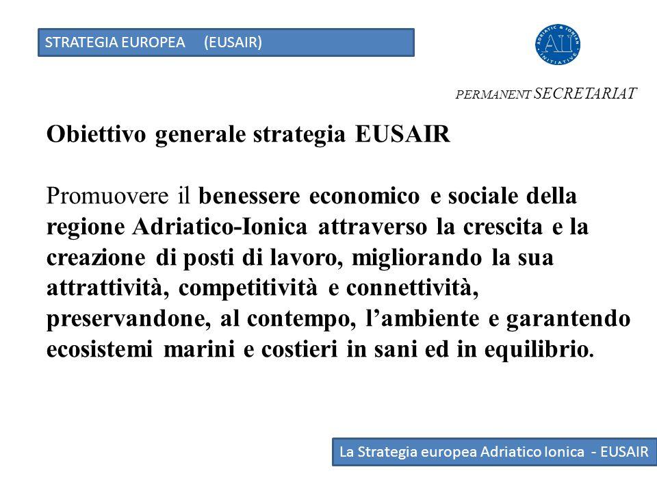 Obiettivo generale strategia EUSAIR