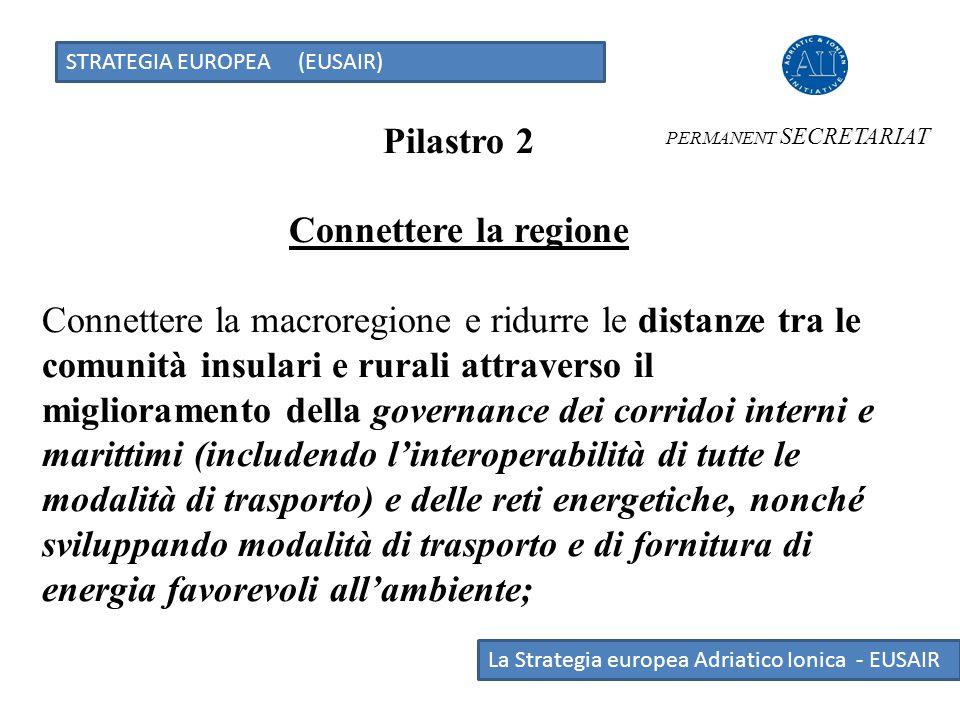Pilastro 2 Connettere la regione