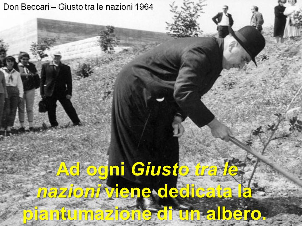 Don Beccari – Giusto tra le nazioni 1964