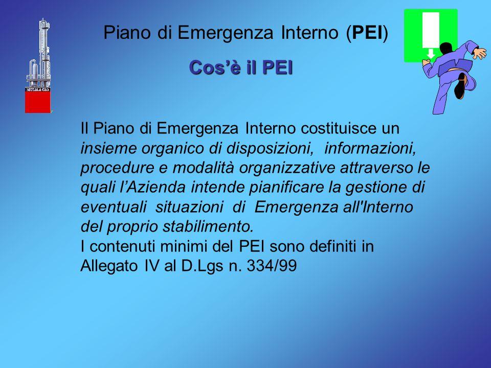 Piano di Emergenza Interno (PEI)