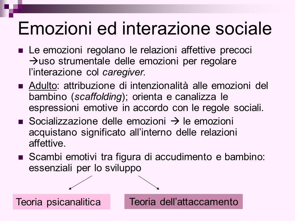 Emozioni ed interazione sociale