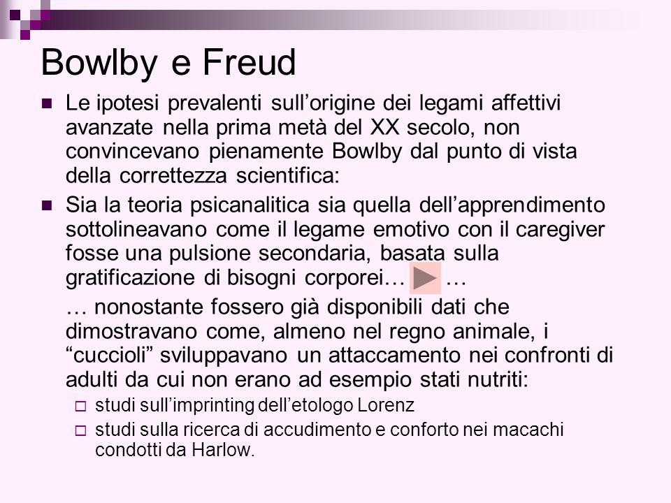 Bowlby e Freud