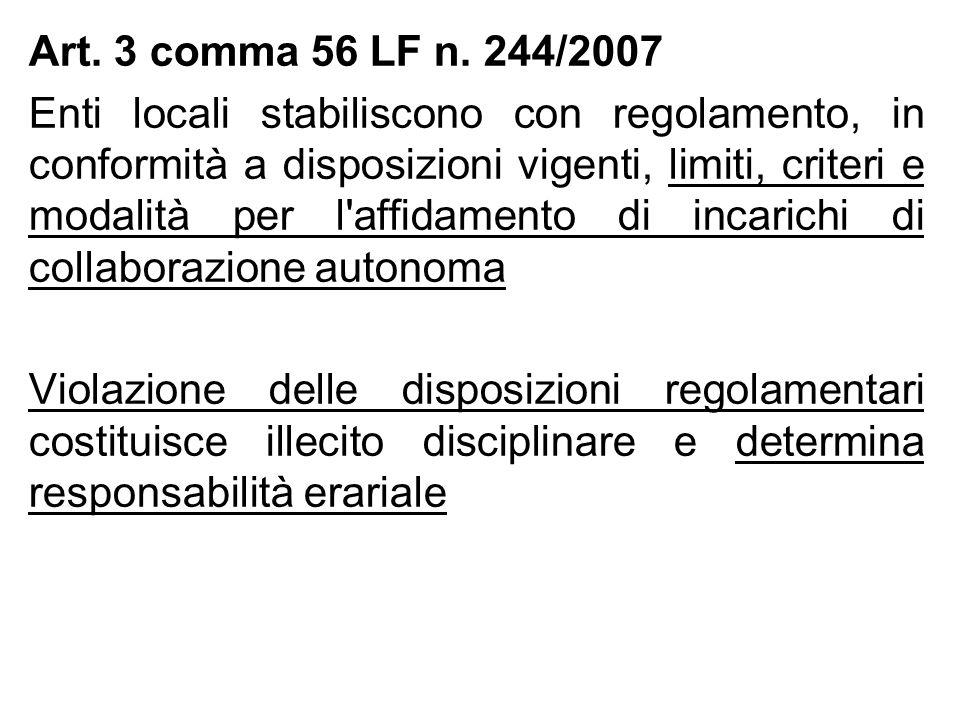 Art. 3 comma 56 LF n.
