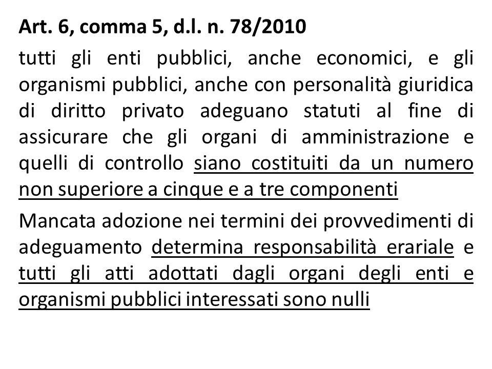 Art. 6, comma 5, d.l. n.