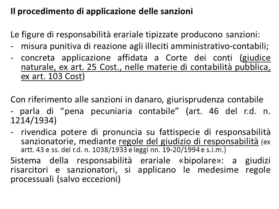 Il procedimento di applicazione delle sanzioni