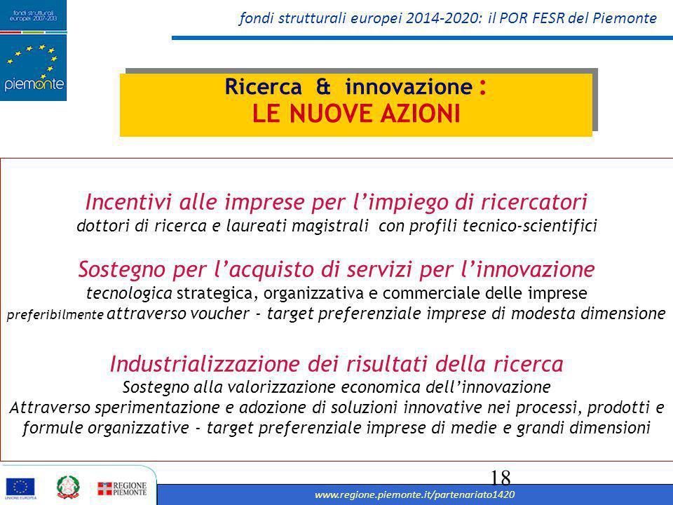 Ricerca & innovazione :
