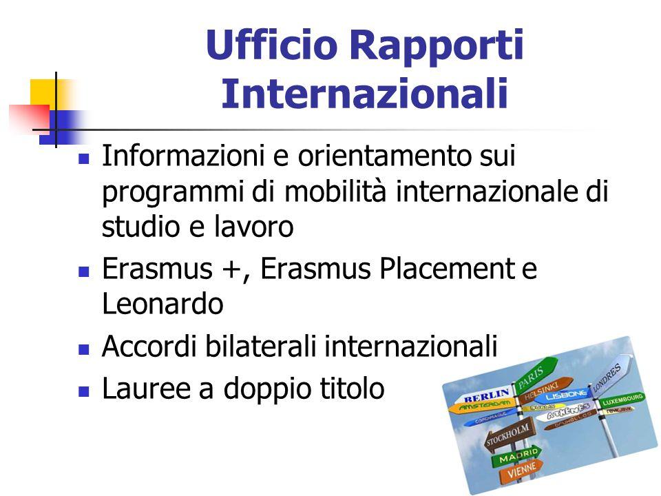 Ufficio Rapporti Internazionali