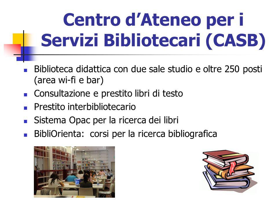 Centro d'Ateneo per i Servizi Bibliotecari (CASB)