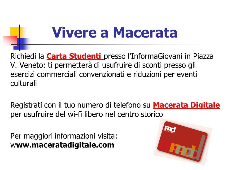 Vivere a Macerata