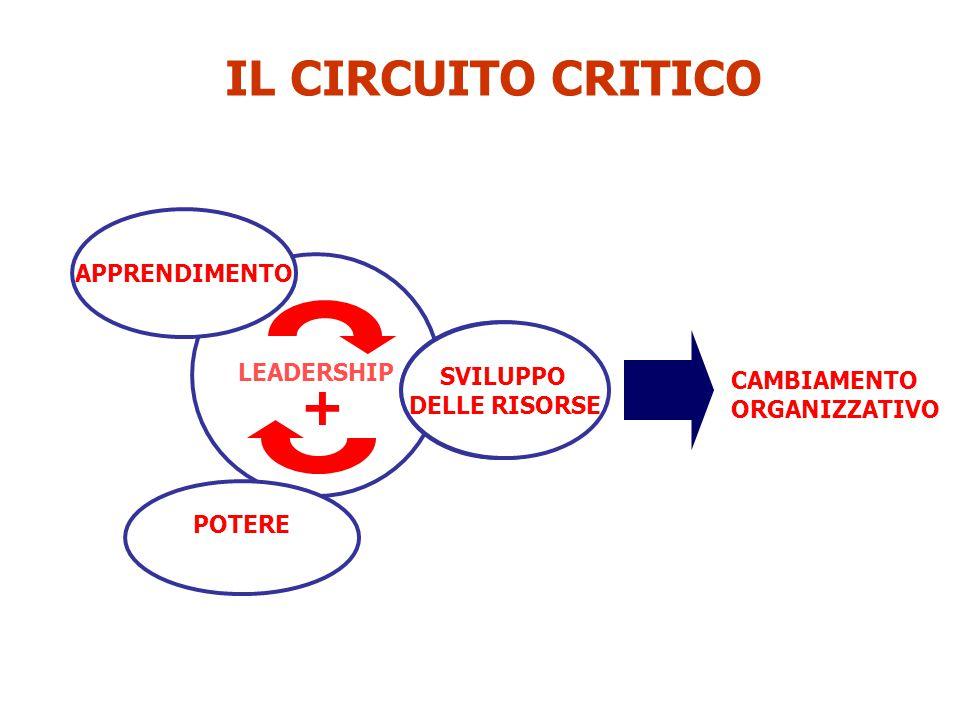 + IL CIRCUITO CRITICO APPRENDIMENTO SVILUPPO DELLE RISORSE SVILUPPO