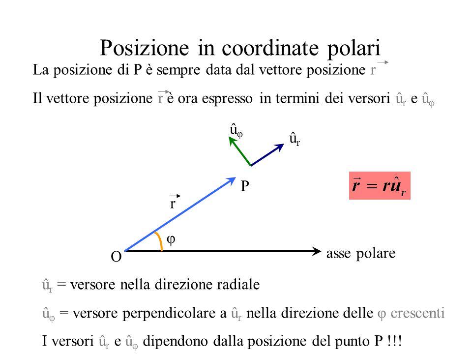 Posizione in coordinate polari