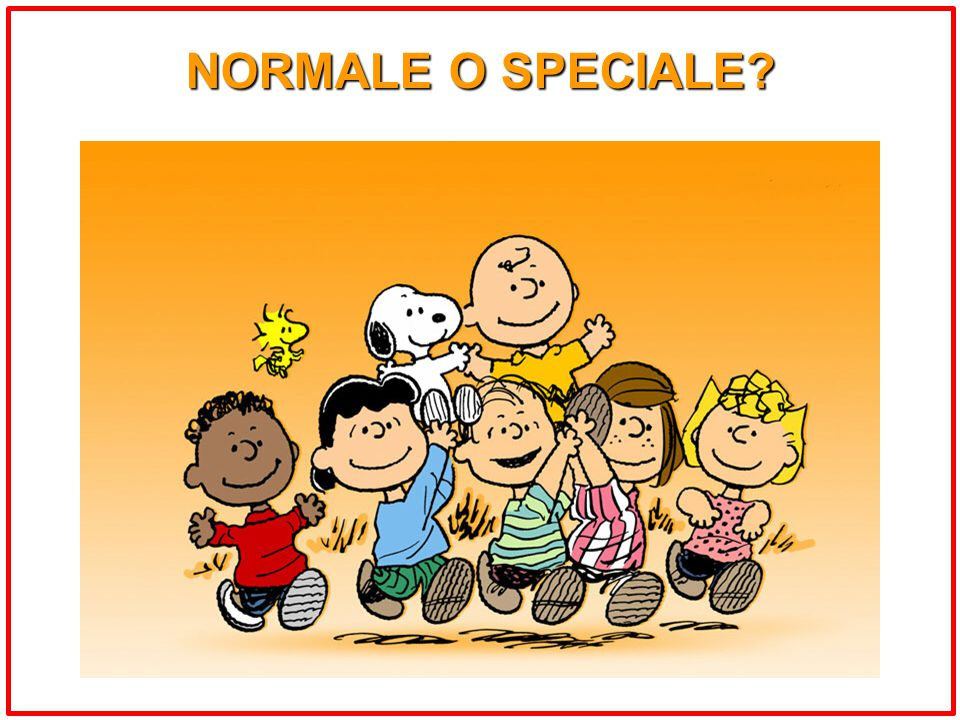 NORMALE O SPECIALE