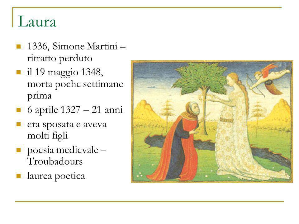 Laura 1336, Simone Martini – ritratto perduto