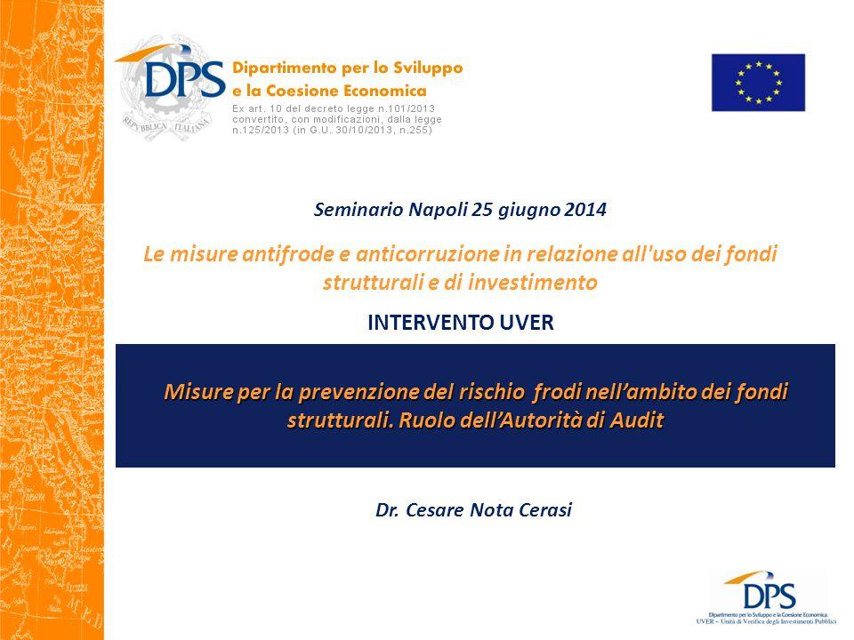 Seminario Napoli 25 giugno 2014
