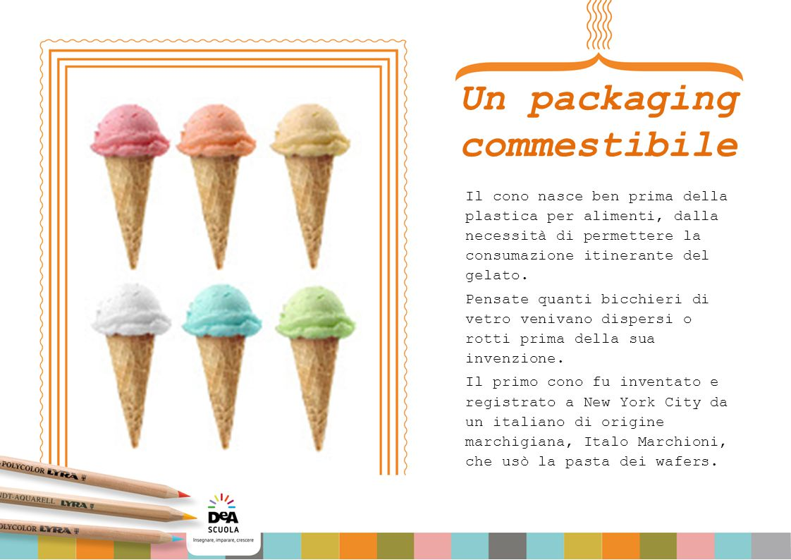 Un packaging commestibile