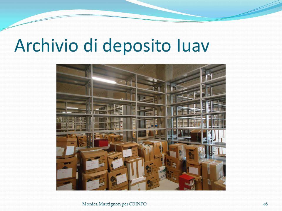 Archivio di deposito Iuav